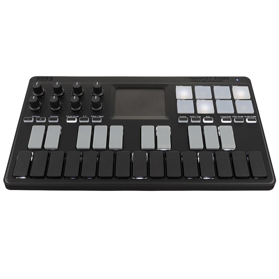 korg nano 25 key studio bluetooth usb midi keyboard controller new 4959112147423 ebay. Black Bedroom Furniture Sets. Home Design Ideas