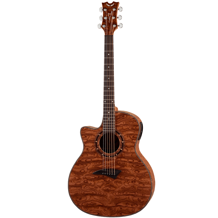 Exotica Bubinga Acoustic Electric Guitar - Lefty