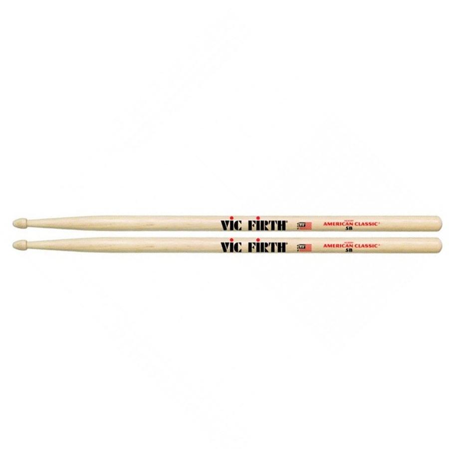 Wood Tip American Classic Vic-Firth 5B Sticks