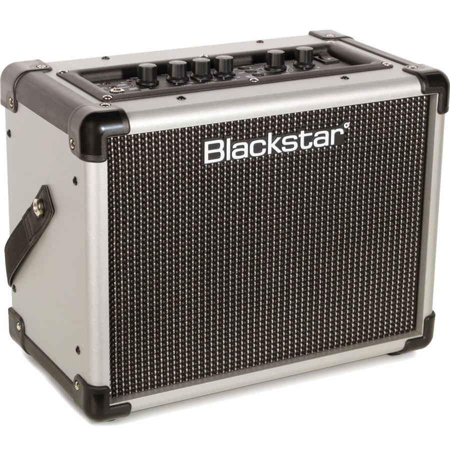 blackstar id core stereo 10 2x5 watt super wide stereo combo amp silver new ebay. Black Bedroom Furniture Sets. Home Design Ideas