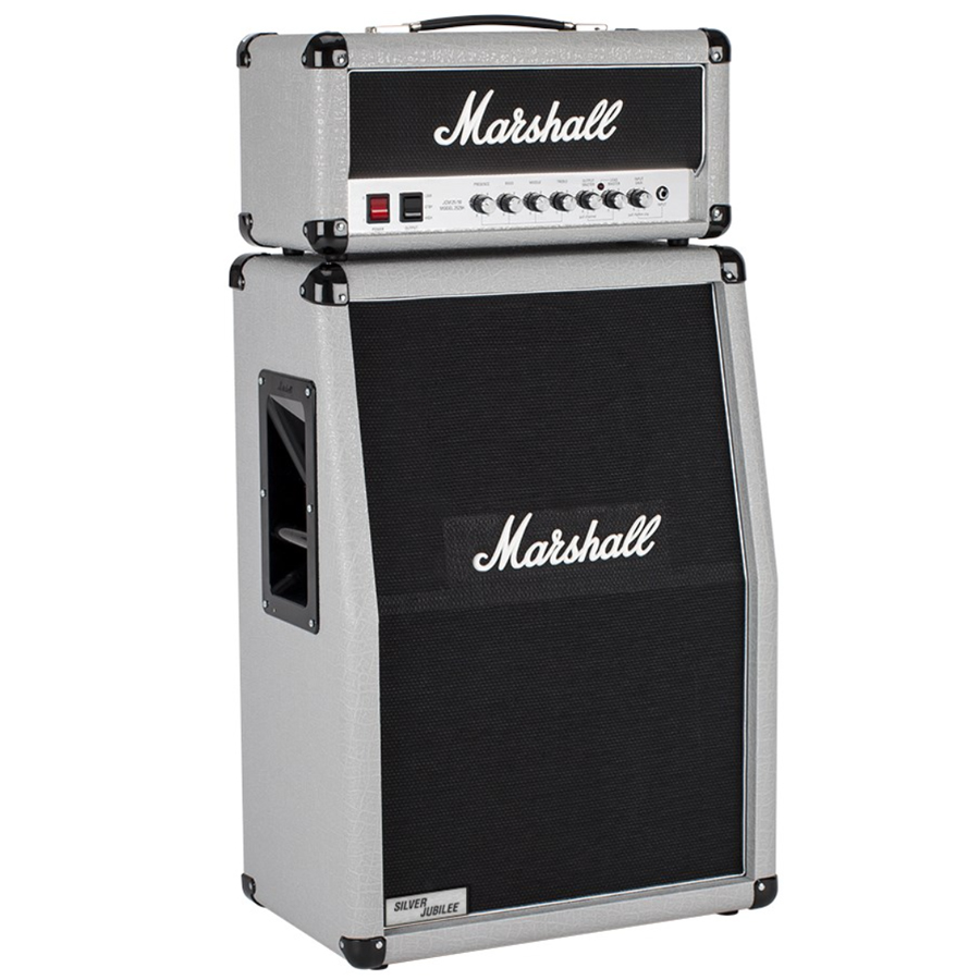 marshall silver jubilee mini half stack 20 5w tube head 2x12 cabinet new ebay. Black Bedroom Furniture Sets. Home Design Ideas