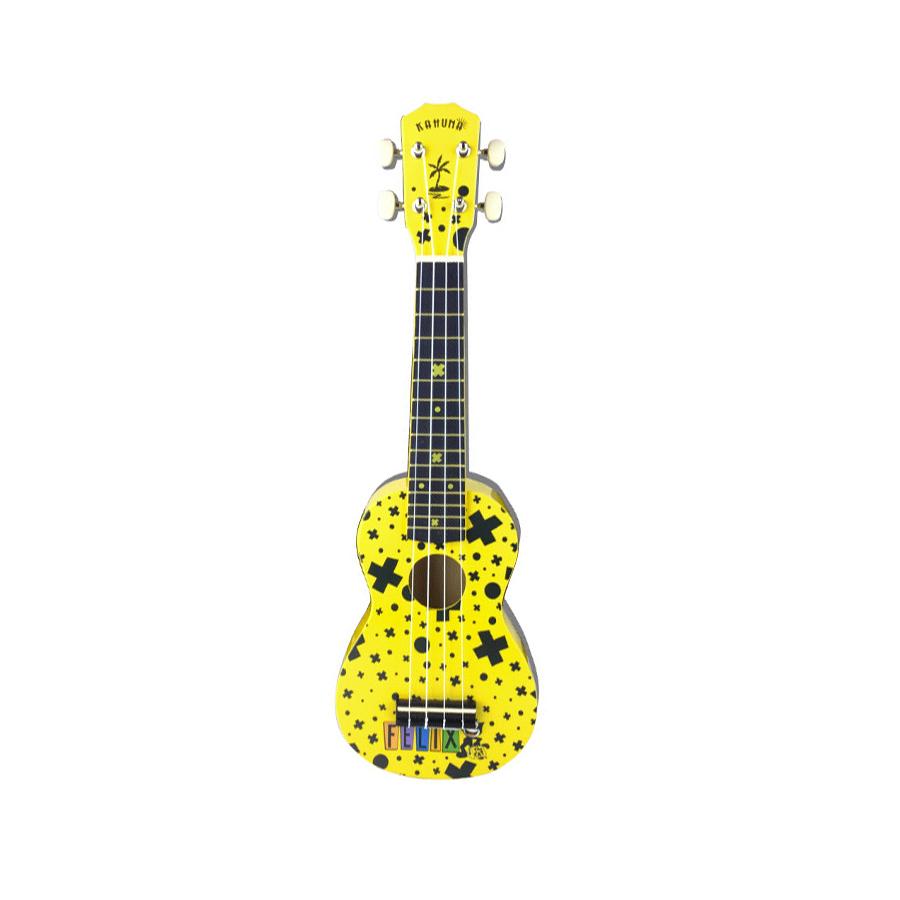 Felix The Cat Soprano Ukulele - Yellow