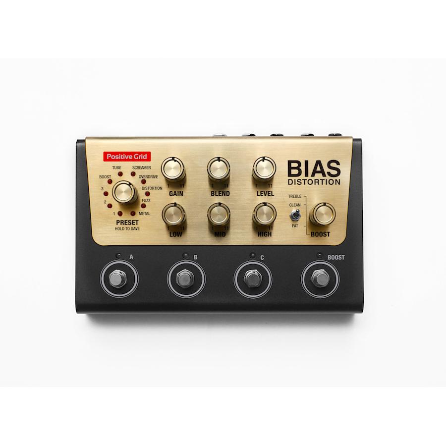Warwick Bass Guitar Wallpaper: Positive Grid Bias Distortion Pedal