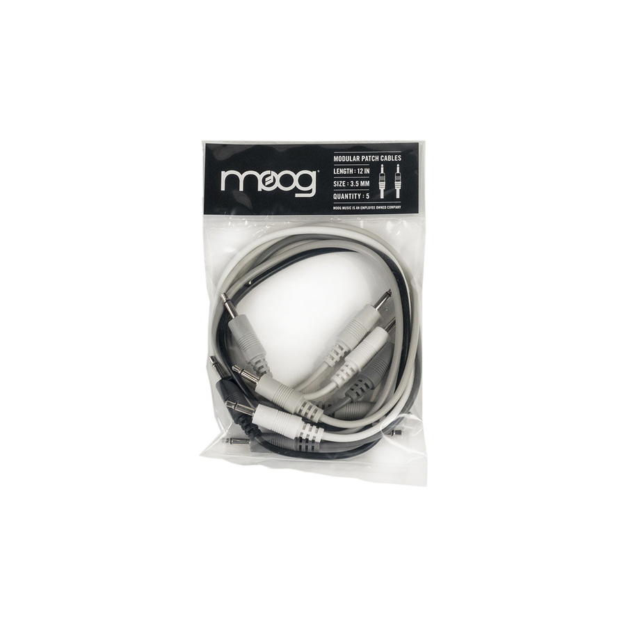 12-Inch Patch Cables for Mother-32 Synthesizer 5 Pack