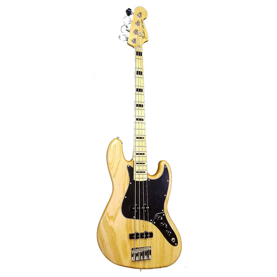 Limited Edition 70s Ash Jazz Bass - Natural