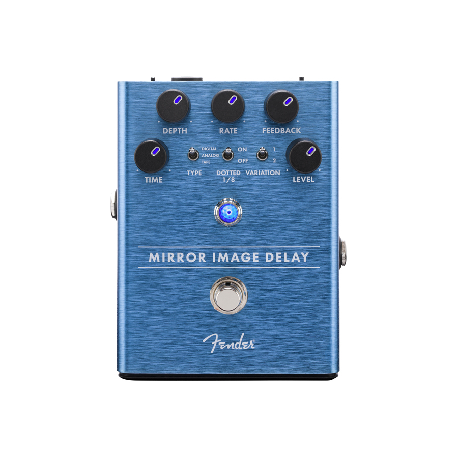 Mirror Image Delay Pedal