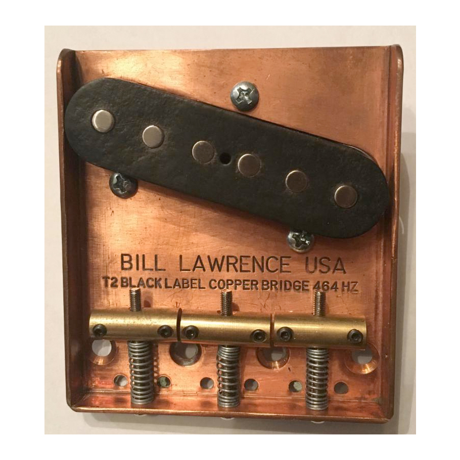 Copper T Bridge and Pickup