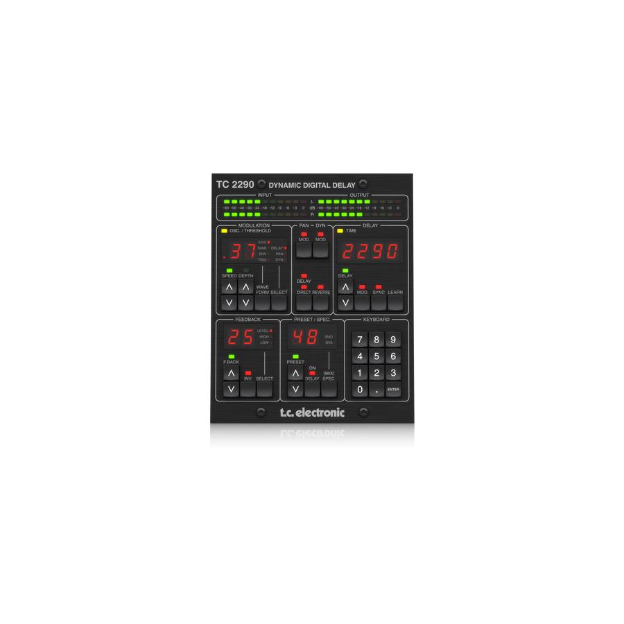 TC2290-DT Delay Plug-In Daw Controller