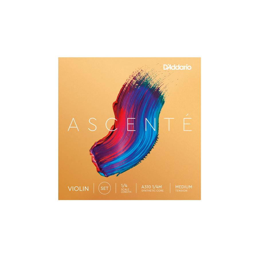 Ascente Violin String Set 1/4 - Medium