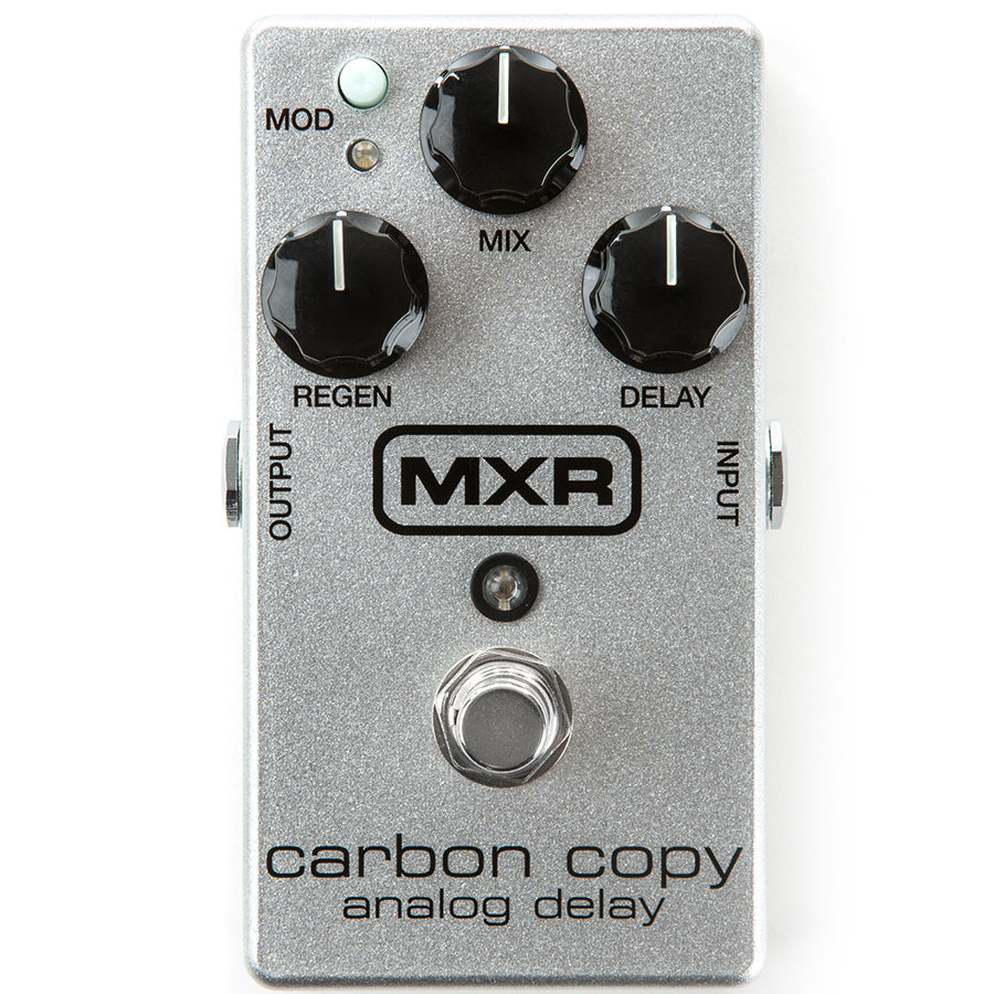 Carbon Copy Analog Delay 10th Anniversary - Silver