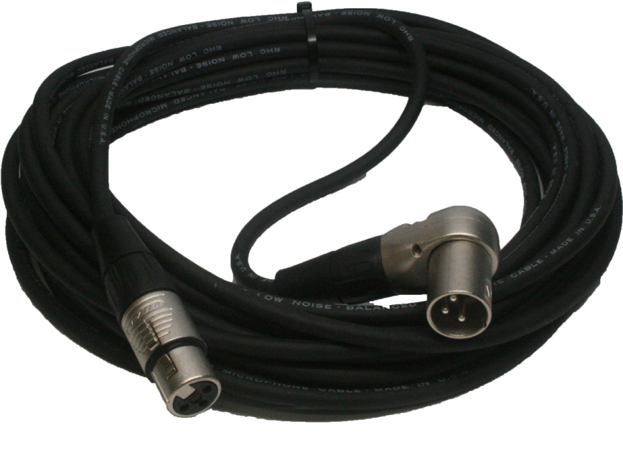 CRM1-25FX Right Angle Low Z XLR Cable
