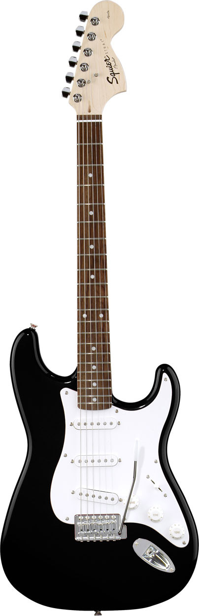 Affinity Stratocaster - Black - Rosewood