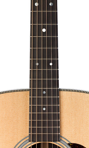 Martin HD28 Fingerboard View