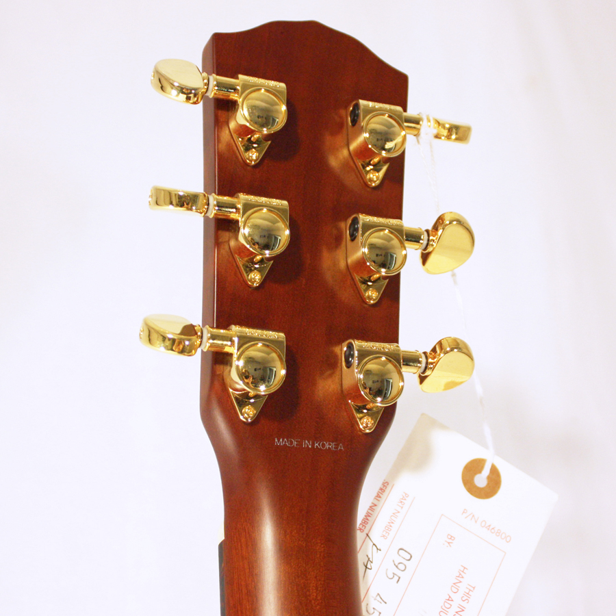 Fender GA45S - Natural - New Old Stock Rear Headstock