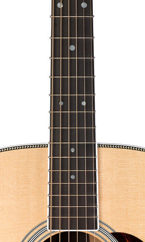 Martin HD35 Fingerboard View