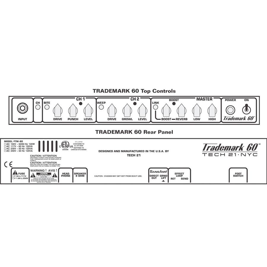 Tech21 Trademark 60 / 112 Controls