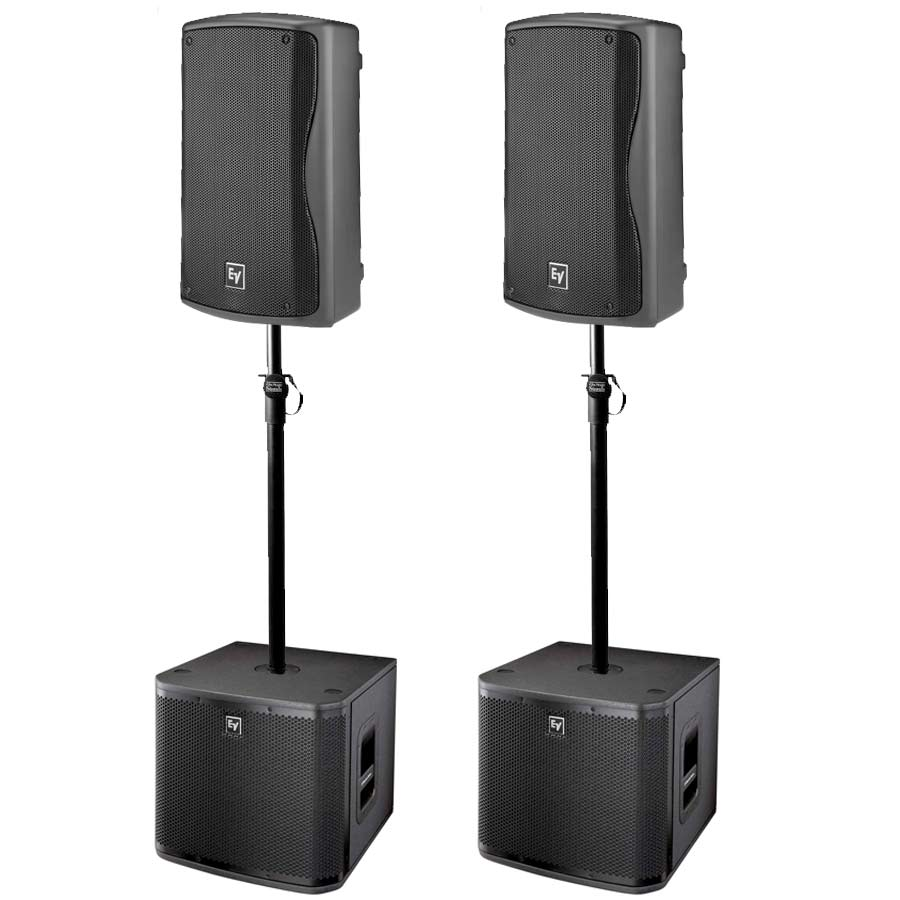 ZXA1 Pro Portable Complete Active Speaker System
