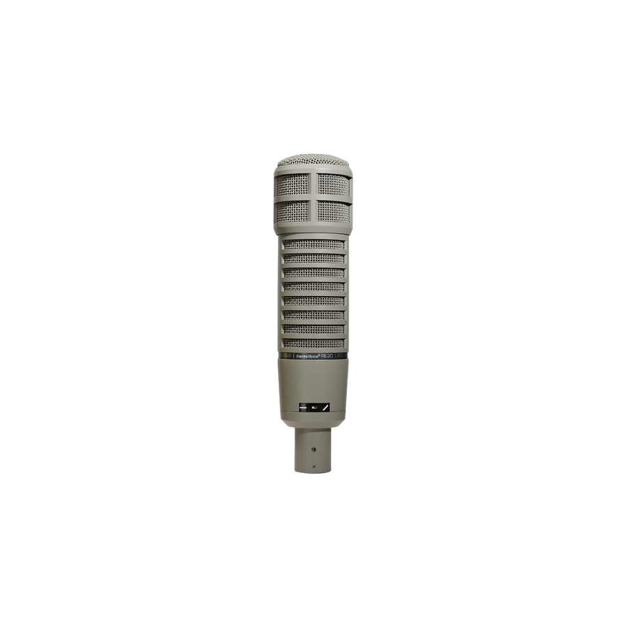 Electro Voice RE20 with 309A Suspension Shock Mount RE20 Microphone