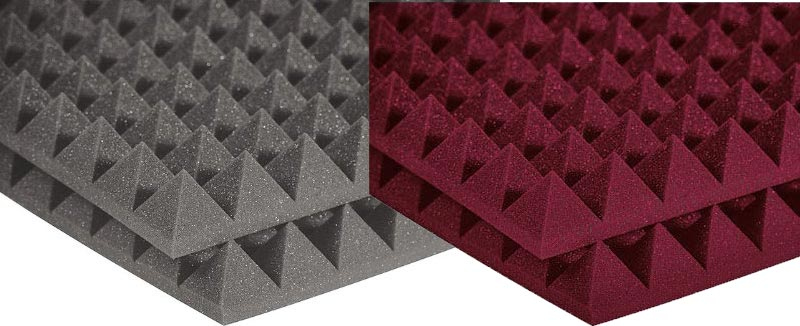 Studiofoam Pyramid - Twelve 2 Inch, 2x2 Foot Panels