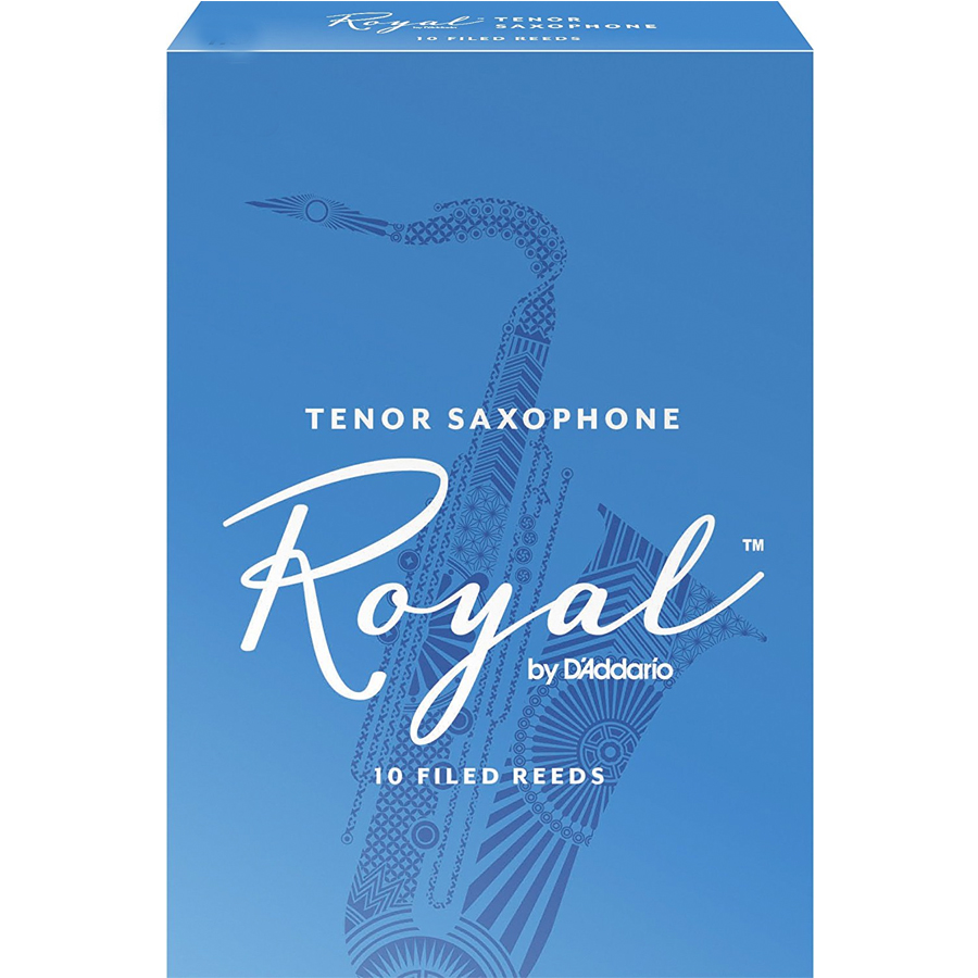 Royal Tenor Sax Reed 4 1/2 - Box of 10
