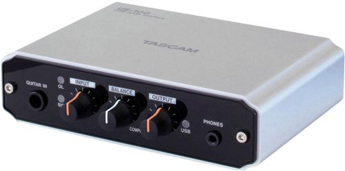 Tascam US-100 Angled View